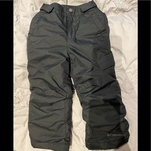 Columbia toddler snow pants size 3T